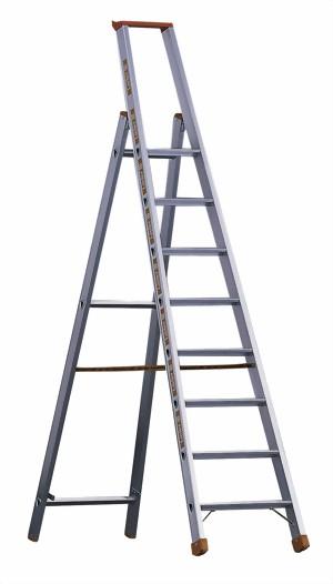 layher alu stufen stehleiter einseitig begehbar topic 10443 ab 3 bis 12 stufen stufennabstand. Black Bedroom Furniture Sets. Home Design Ideas
