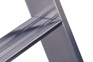 layher alu stufen anlegeleiter topic 1042 ab 6 bis 16 stufen lichte weite 390 mm au enbreite. Black Bedroom Furniture Sets. Home Design Ideas